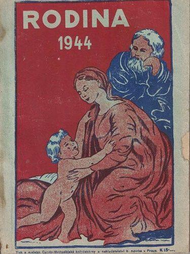 Rodina 1944 - zábavný kalendář na přestupný rok