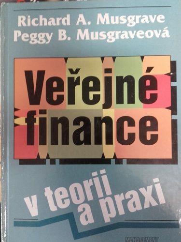 Veřejné finance v teorii a praxi - Musgrave, Musgraveová