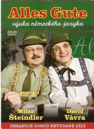 DVD Alles Gute - výuka něm. jazyka - M. Šteindler, D. Vávra