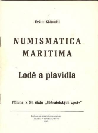 Numismatica maritima - Lodě a plavidla