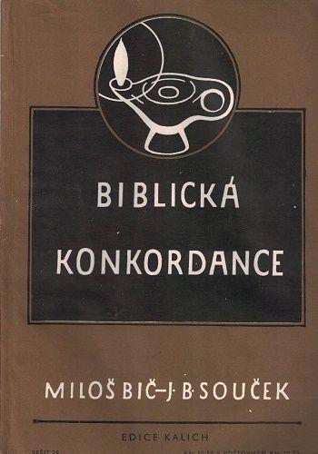5 x Biblická konkordance 27, 28, 29, 30 a 31 - Bič, Souček