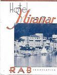 Hotel Miramar - Rab - Jugoslavija