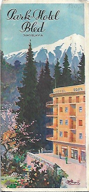 Park - Hotel Bled Jihoslávia