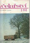 Včelařství 1981 - 12 čísel