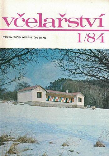 Včelařství 1984 - 12 čísel
