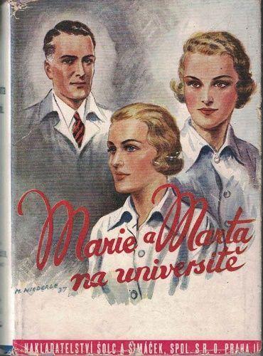 Marie a Marta na universitě - Lída Merlínová