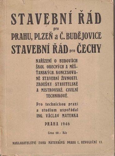 Stavební řád - Praha, Plzeň a České Budějovice - Materka