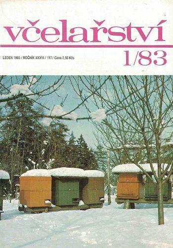 Včelařství 1983 - 12 čísel