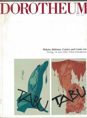 Dorotheum 2002 - aukční katalog Plakát, reklama a komiks