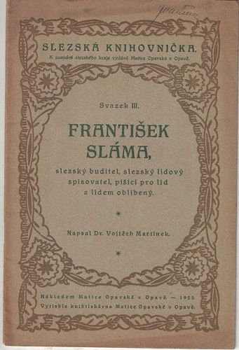 František Sláma - Vojtěch Martínek