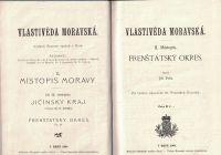 Vlastivěda moravská - Frenštátský okres - J. Felix a Rožnovský okres - Č. Kramoliš