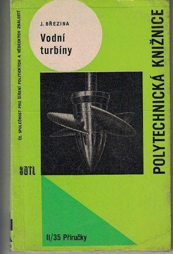 Vodní turbíny - J. Březina