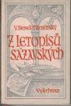 Z letopisů sázavských - V. Beneš-Třebízská