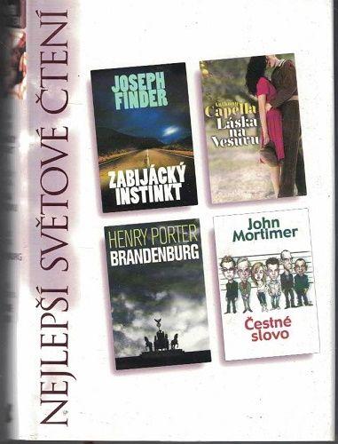 Nejlepší světové čtení - Zabijácký instinkt - Finder, Brandenburg - H. Porter