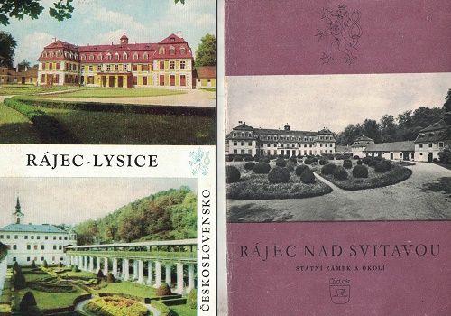 Rájec nad Svitavou + Rájec - Lysice - zámek
