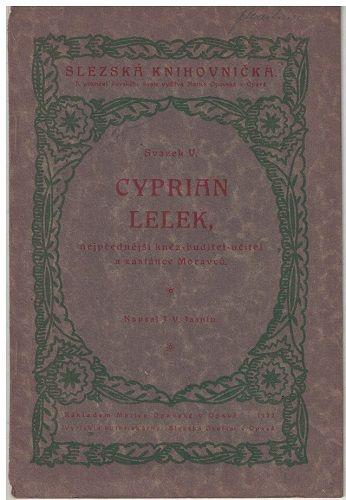 Cyprian Lelek - J. Jasnín
