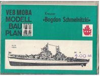 Kreuzer Bogdan Schmelnitzki - plán a popis modelu