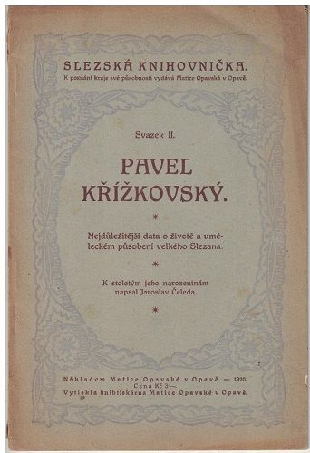 Pavel Křížkovský - J. Čeleda
