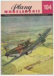 Plany modelarskie 104 - stíhačka Defiant