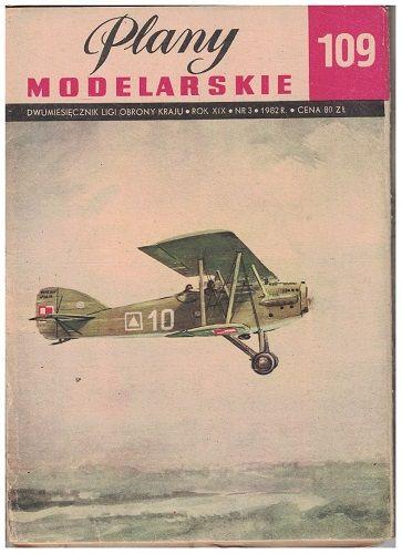 Plany modelarskie 109 - Dvouplošník Potez 15