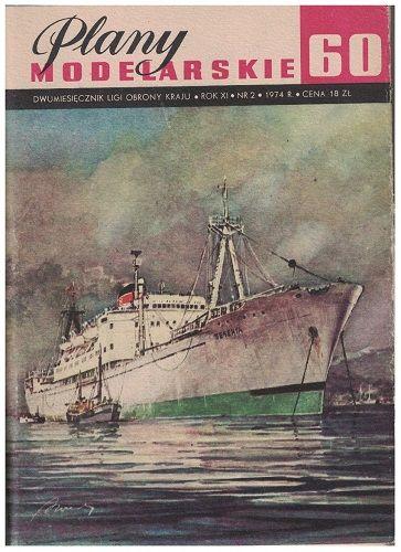 Plany modelarskie - Statek-Baza rybacka Pieczenga
