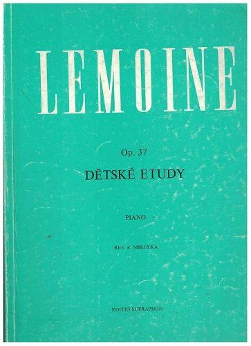 Henri Lemoine - Dětské etudy - piano
