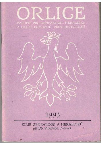 Orlice - časopis pro genealogii a heraldiku 2/1993