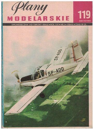 Plany modelarskie 119 - Sportovní letadlo Zlín-42 M
