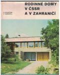Rodinné domy v ČSSR a v zahraničí - F. Kobosil, S. Koláček