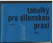 Tabulky pro dílenskou praxi - J. Dolava