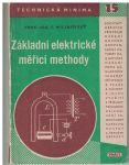 Základní elektrické měřící jednotky - F. Milinovský