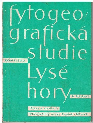 Fytogeografická studie - Lysá hora - A. Hájková