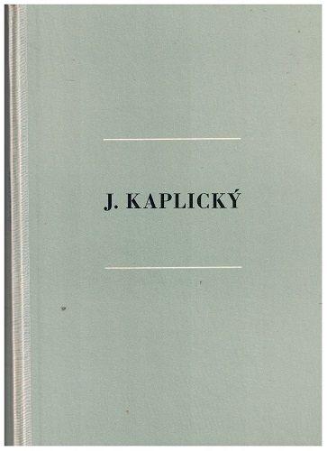 Josef Kaplický - M. Racek