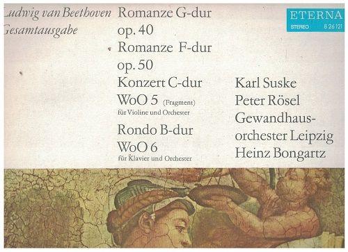LP Ludwig van Beethoven - Romanze G-dur a F-dur, Konzert C-dur, Rondo B-dur