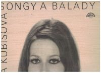 LP Songy a balady - Marta Kubišová