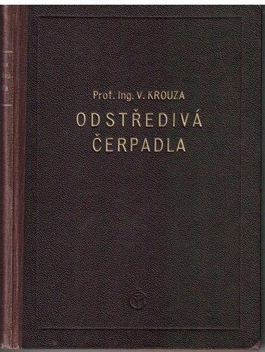 Odstředivá čerpadla - V. Krouza