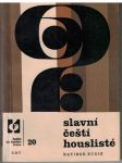 Slavní čeští houslisté - R. Budiš