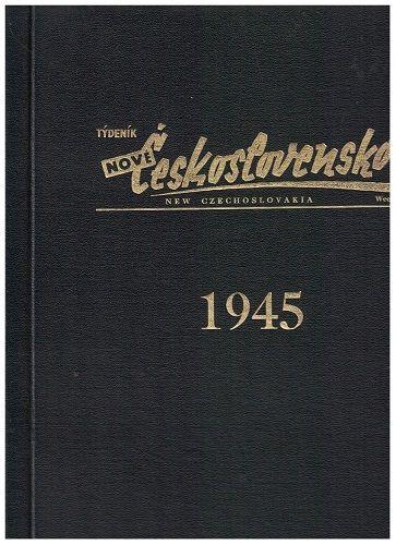 Týdeník Nové Československo 1945 - svázáno