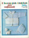Z barevných klubíček pro nejmenší - pletení