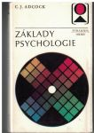 Základy psychologie - C. J. Adcock