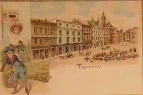 Opava (Troppau) - Horní náměstí - reprint