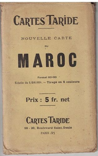 Cartes Taride - Maroc (Maroko)