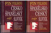 Česko-španělský studijní slovník a Španělsko-český studijní slovník - kol. autorů