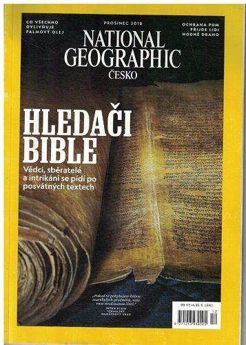 National Geographic 12/2018 - Hledači bible
