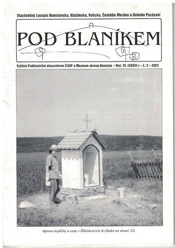 Pod Blaníkem 3/2002 - vlastivědný časopis