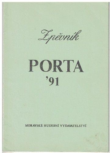 Porta 1991 - zpěvník