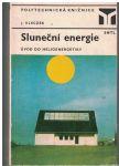 Sluneční energie - J. Kleczek