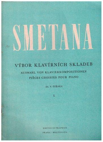 Výbor klavírních skladeb I. - Bedřich Smetana