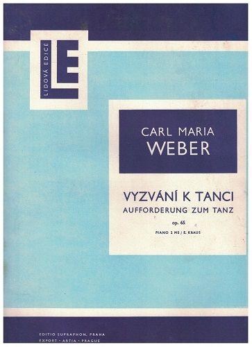 Vyzvání k tanci (piano)- Carl Maria Weber
