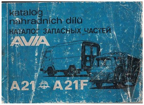 Katalog náhradních dílů Avia A21, A21F